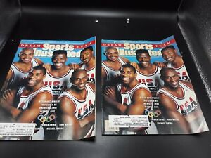 2 copies of Sports Illustrated (February 18, 1991) 1992 Olympic Dream Team