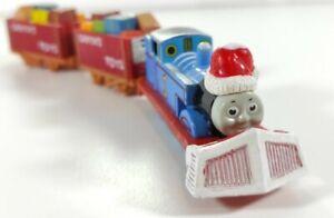 Vintage ERTL Thomas The Tank Engine Santa Hat Christmas + Santa Toys SC Ruffey