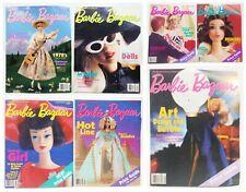 Barbie Bazaar The Barbie Collector's Magazine Lot Of 7