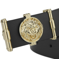 Luxury Personality Lion Golden buckle High Quality Fashion belts mens leather