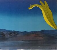 Hanna Barbera:The Herculoids: Zok Original Production Cel w/ Matching Drawing