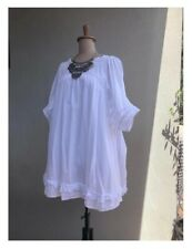 Easton Pearson white dress Size 10 to 12 Pre Owned in perfect condition