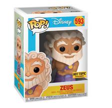 Funko Pop Zeus #593 Disney Hercules {Pre-Order} Hot Topic Exclusive +Protector