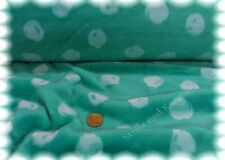 Mystic Dots smaragd grün Kuschelnicky Kinderstoff Fleece Plüsch Flanell Fleece