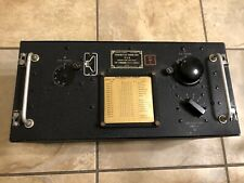 Military Radio NOS WW2 Transmitter Tuning Unit TU-8-B 6.2-7.7mhz + Case