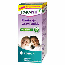 PARANIT Lotion 100 ml eliminuje wszy i gnidy, it eliminates lice and nits