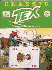 CLASSIC TEX NUMERO 9: L'EROE DEL MESSICO ED.BONELLI BLISTERATO CON CARTE