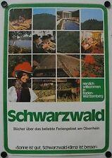 Affiche SCHWARZWALD Allemagne - Tourisme