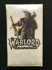 Warlord Saga Of The Storm 1st Edition Booster Box - Factory Sealed