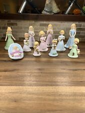 Vintage Enesco Birthday Growing Up Girls Porcelain Figurines lot Of 11 Baby-10