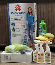 Hoover - Twin Tank Steam Mop, Air Express Hand Vac & 4 Cleaners - New!