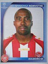 Panini 40 Siyabonga Nomvethe Aalborg BK UEFA CL 2008/09