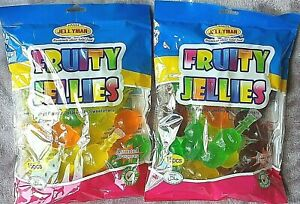FRUIT JELLIES X2 FULL BAGS 30pieces  TIK TOK FRUITY JELLYS 30 JELLY SWEETS CANDY