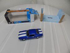 2005 1:24 Scale 1969 Blue/White Chevy Camaro Z/28 Johny Lighting Cast Metal Car