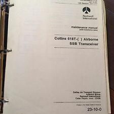 Collins 618T-( )  SSB Transceiver Install & Maintenance Manual