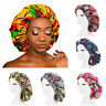 Large Satin Silk Night Sleep Hat Ankara bonnets Chemo Beanie Cap Ladies Turban