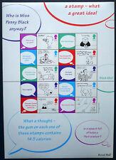 Großbritannien 2001 Smilers Sheet LS6 Cartoons ** postfrisch MNH