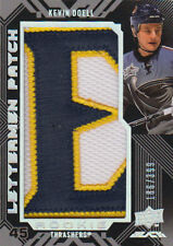 08-09 UD Black Lettermen PATCH xx/399 Made! Kevin DOELL #96 - Thrashers