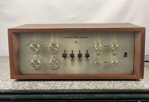 Vintage Marantz 7c Tube Preamp in Wood Cabinet Early Serial #