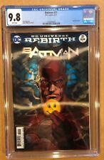 BATMAN # 21 CGC 9.8! LENTICULAR COVER. DC UNIVERSE REBIRTH. (6/17),