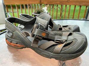 Teva Itunda 4140 Men's Closed Toe Performance Sandals Brown Gray Size 11.5