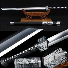 High Quality Chinese Sword Full Tang Sword High Manganese Steel Sharp Blade #419