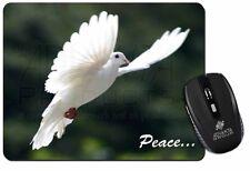 White 'Peace' Dove Computer Mouse Mat Christmas Gift Idea, AB-D4M