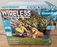 Guardian PetSafe Wireless Pet Containment Fence Shock Training 1/2 Acre