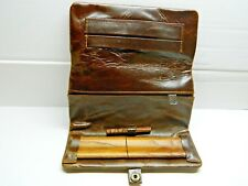 Large Genuine Leather Original Kavatza Tobacco Rolling Pouch. Ideal Gift.