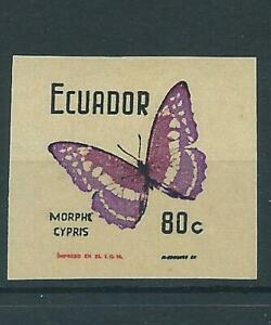 Ecuador,1970,Butterfly,imperf,MNH