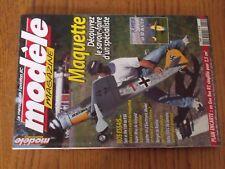 $$$ Revue Modele magazine N°629 Plan encarte Gee Bee R2Spit et Me 109Ranger