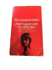 The Compleat Witch by ANTON SZANDOR LAVEY ~ First Edition 1971 Satanism SOFT CVR
