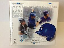2002 Topps Reserve Baseball Hobby Box Factory sealed unopen w/ auto mini helmet