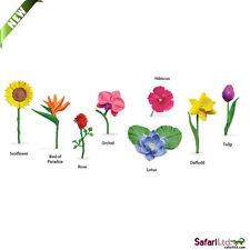 Flowers Toob/toob/safari Ltd/toy/flower/rose,sunflower/lotus/tulip/daffodil