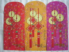 AEON Year 2014 Chinese New Year Ang Pow/Red Money Packets 3pcs