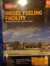 Walthers Cornerstone HO #933-2908 Engine Servicing Facility -- Diesel Fueling