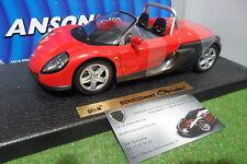 RENAULT SPORT SPIDER cabriolet open rouge au 1/18 ANSON 30350 voiture miniature