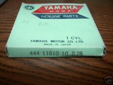 NOS 1974-1976 Yamaha DT125 .25 Piston Rings 444-11610-10