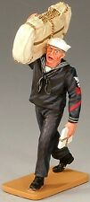 KING & COUNTRY U.S. NAVY USN010 SAILOR WITH SEABAG MIB