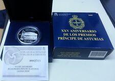 Año 2005. 10 EUROS PLATA ESPAÑA. XXV Aniverversario Premios Príncipe Asturias.