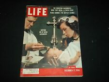 1956 DECEMBER 17 LIFE MAGAZINE - BAPTISM - BEAUTIFUL FRONT COVER - GG 695