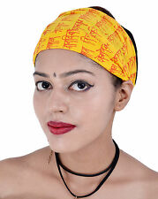 New Women Cotton Headband Solid Wide Hairband Bandana 10 Pcs Lot Wrap Band