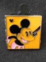Disney Collectible Pin Hidden Mickey - Neon Mickey - Orange 2014