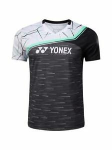 Badminton T-Shirts table tennis clothes Polyester Breathable Sport Tops for Men