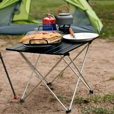 More details for aluminium portable folding stool camping table stool bag camping lightweight