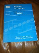 Piano - Scales and Arpeggios - grade 2