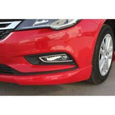 Vauxhall Opel Astra K Chrome Fog Lamp Frame Trim 2pcs S.Steel 2015Up