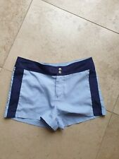 Size 10 Shorts Topshop Blue Running Gym Shorts