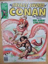 Savage Sword of Conan # 23 (1977) John Buscema Alfredo Alcala