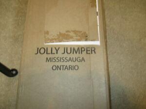 Jolly Jumper Exerciser with Door Clamp, Black
